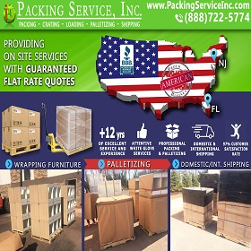 Shipping Furniture from New Jersey to Florida